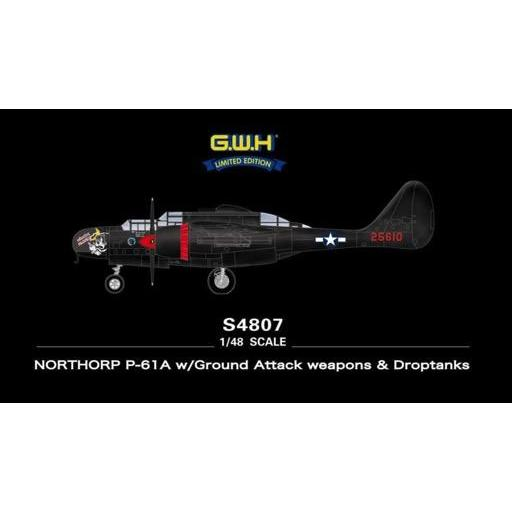 1/48 Northorp P-61A w/ground Attack Weapons & Droptanks