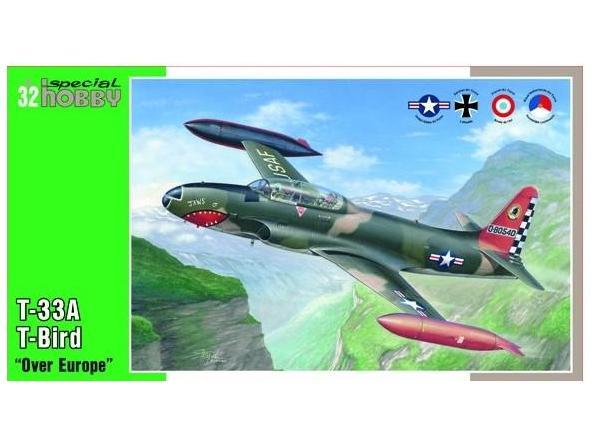 "1/32 T-33 A T- Bird ""Over Europe"""