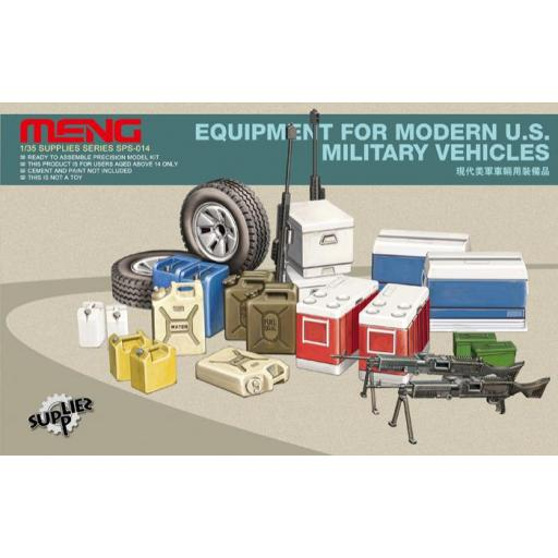 1/35 Equipment for modern U.S. Military vehicles