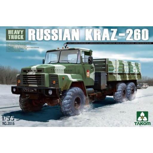1/35 Russian Kraz-260 Heavy Truck