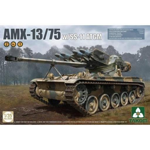1/35 AMX13/75 With SS-11 ATGM