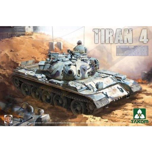 1/35 Tiran 4 IDF Medium Tank