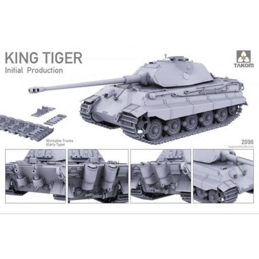 1/35 WWII German Heavy Tank King Tiger Inital production [3]