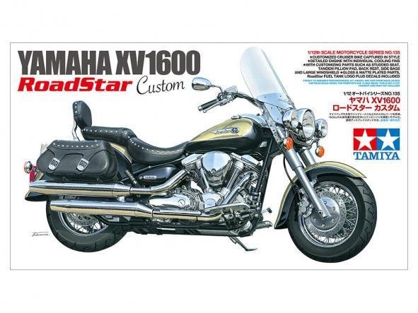 1/12 Yamaha XV1600 RoadStar Custom