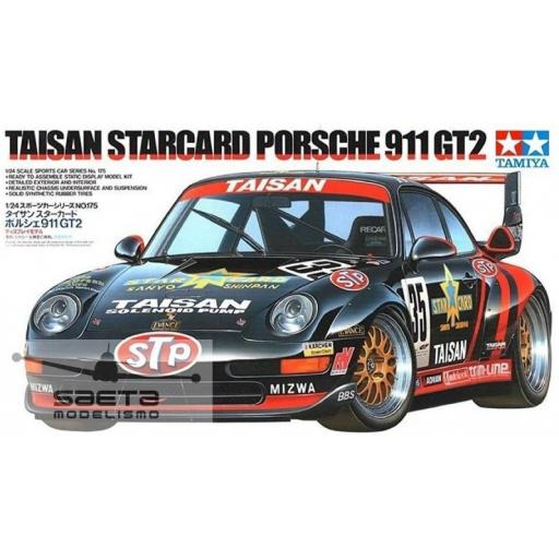 1/24 Porsche 911 GT2 Taisan Starcard