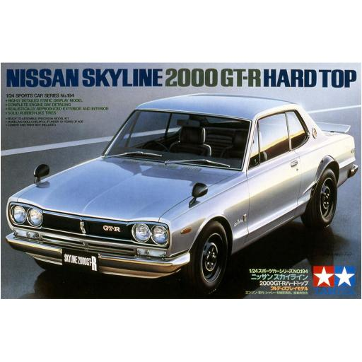 1/24 Nissan Skyline 2000 GTR Hard Top