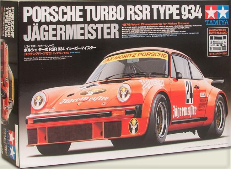 1/24 Porsche 934 Jägermeister