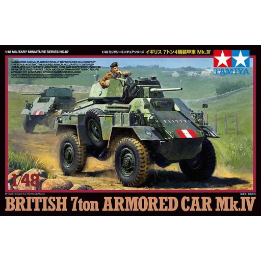 1/48 Vehiculo Blindado Británico 7.ton Mk.IV