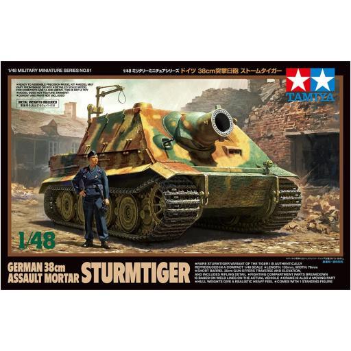 1/48 Tanque de asalto aleman Sturmtiger 38cm