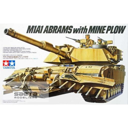 1/35 M1A1 Abrams Mine Plow