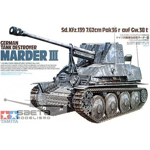 1/35 Marder III German Tank Destroyer
