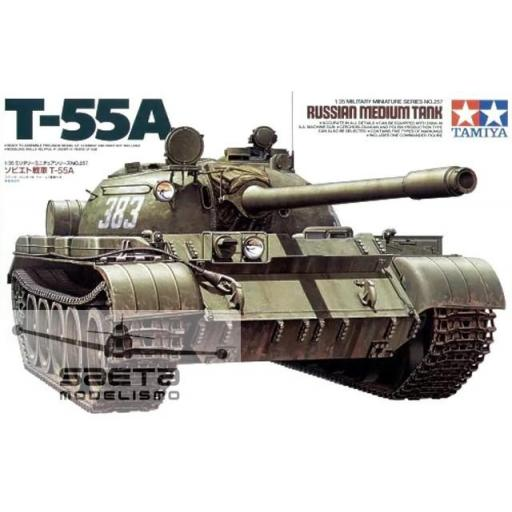 1/35 Russian Medium Tank T-55A