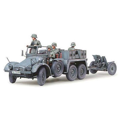 1/35 Krupp Protze 1 ton. (6x4) Kfz.69 Towing truck w/PaK 3,7cm