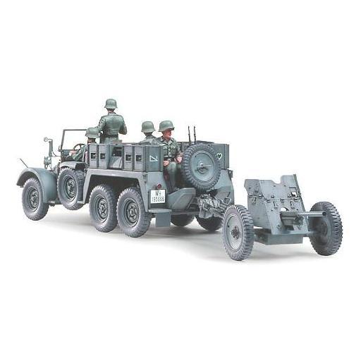 1/35 Krupp Protze 1 ton. (6x4) Kfz.69 Towing truck w/PaK 3,7cm [2]