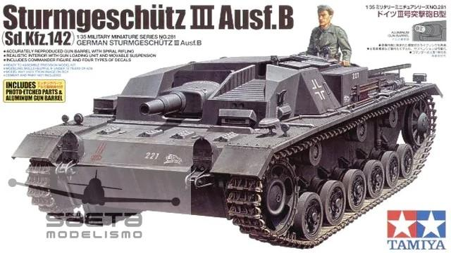 1/35 Sturmgeschütz III Ausf.B