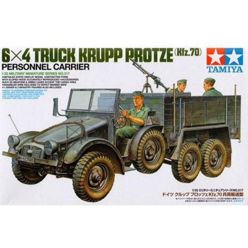 1/35 Camión Krupp Protze Kfz.70 Personnel Carrier