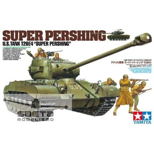 1/35 U.S. Tank T26E4 super Pershing