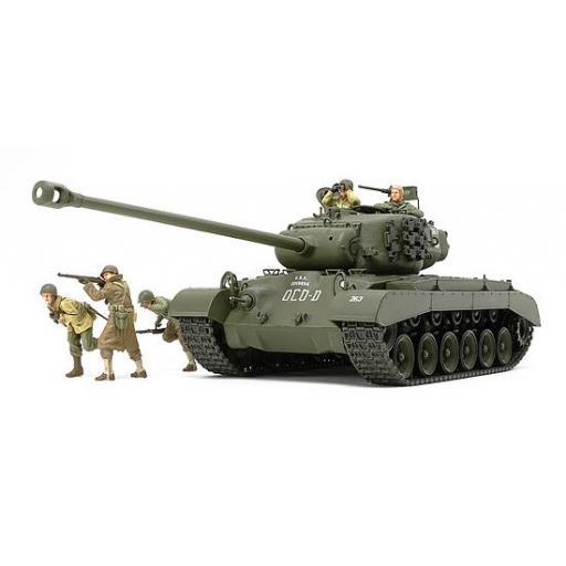 1/35 U.S. Tank T26E4 super Pershing [1]