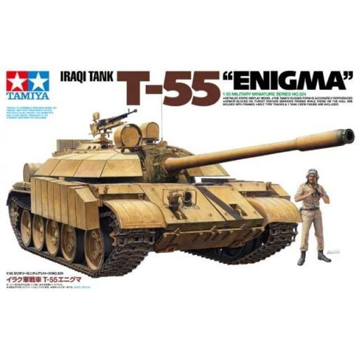 1/35 Iraqi Tank T-55 Enigma