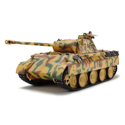 1/35 Tanque aleman Panther Ausf.D