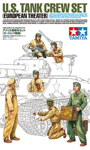 1/35 Tripulación de tanque americano