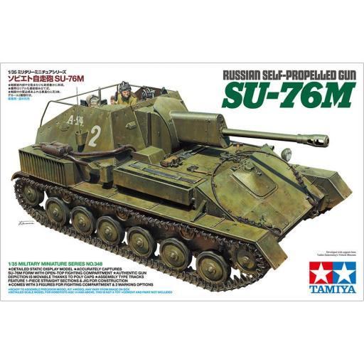 1/35 Cañón autopropulsado ruso SU-76M