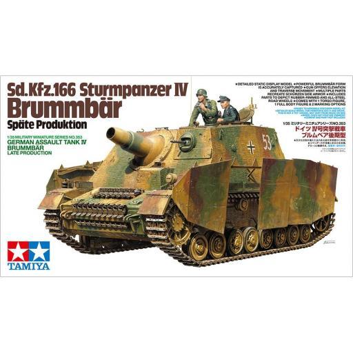 1/35 Tanque asalto aleman Brummbär Production Tardia