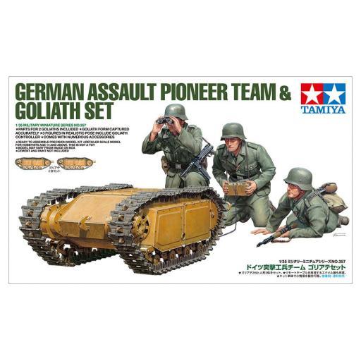 1/35 German Assault Pioneer Team & Goliat Set