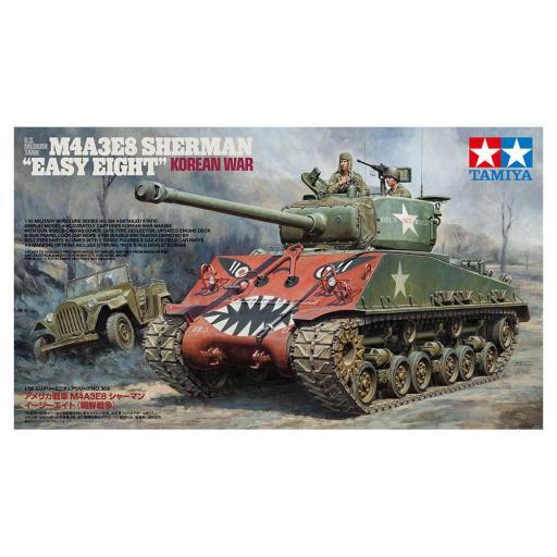 1/35 M4A3E8 Sherman Korean War