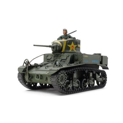 1/35 U.S. Light Tank M3 Stuart Late production [1]