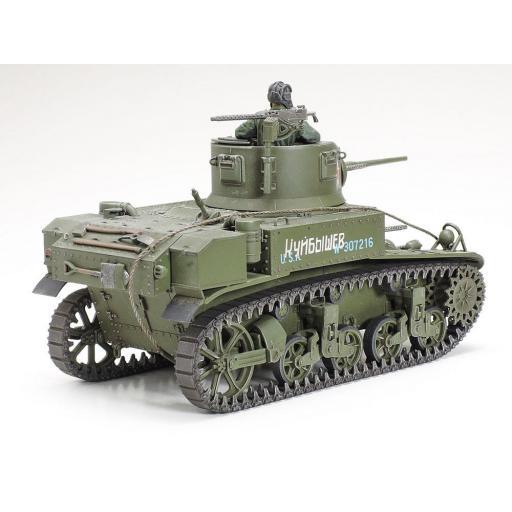 1/35 U.S. Light Tank M3 Stuart Late production [2]