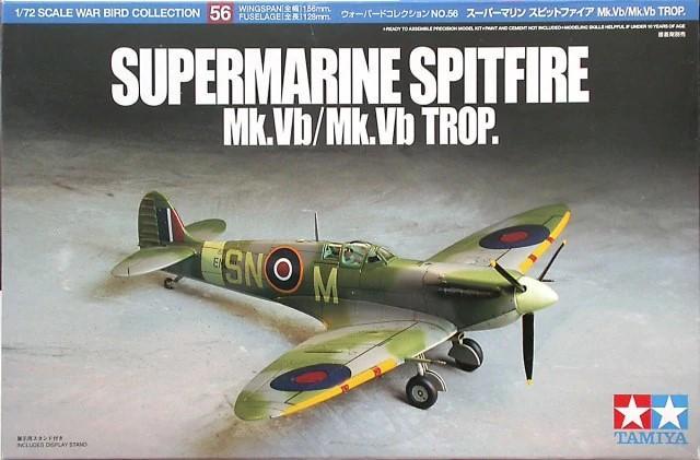 1/72 Supermarine Spitfire Mk.Vb / Mk.Vb Trop