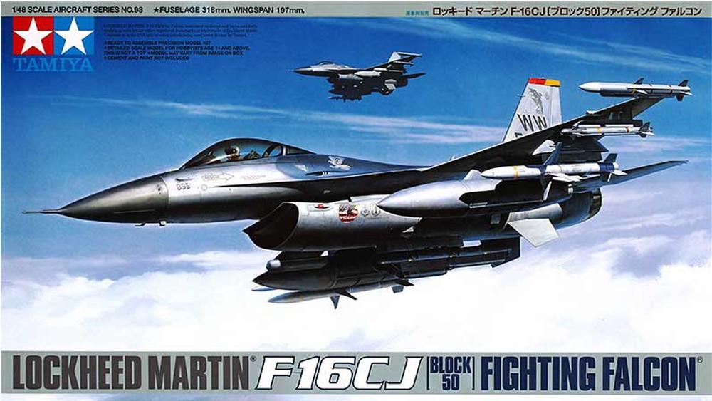 1/48 Lockheed Martin Fighting Falcon F-16CJ Block 50