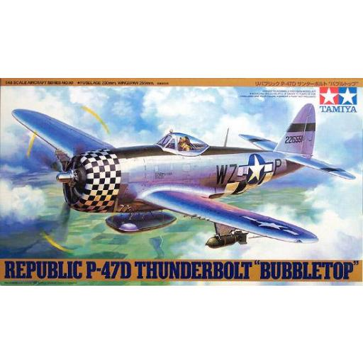 1/48 Republic P-47D Thunderbolt Bubbletop