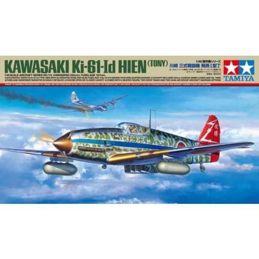"""1/48 Kawasaki Ki-61 I d Hien """"Tony"""""""