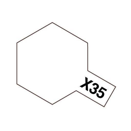 Pintura Acrilica  X-35, Barniz satinado - Semi Gloss Clear