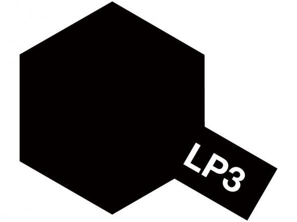 LP-3 Flat Black - Negro Mate