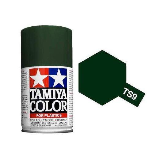 Spray Pintura Esmalte TS-9, Verde Ingles