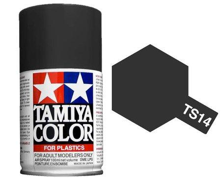 Spray Pintura Esmalte TS-14, Negro