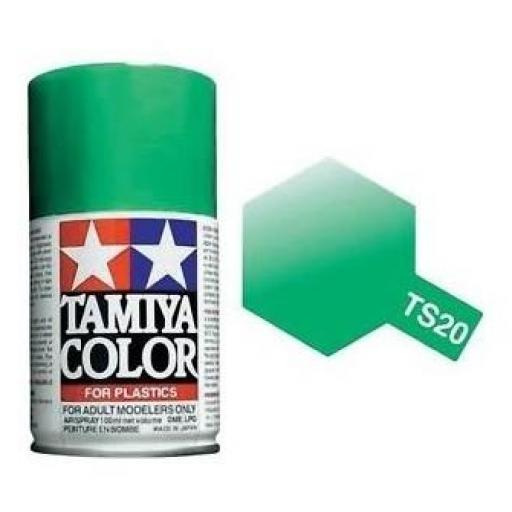 Spray Paint TS-20 Metallic Green