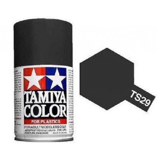 Spray Pintura TS-29 Negro Satinado