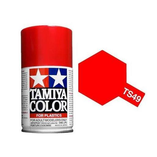Spray Paint TS-49 Bright Red