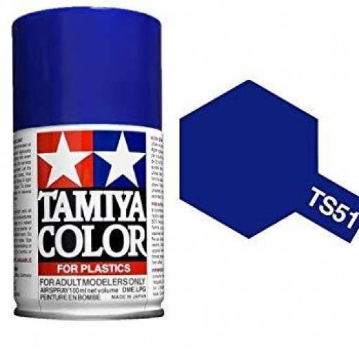 Spray Paint TS-51 Racing Blue