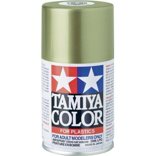 Spray Pintura Esmalte TS-88, Plata Titanio