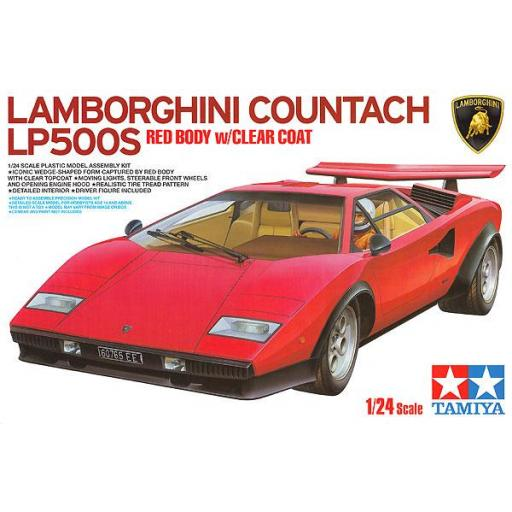 1/24 Lamborghini Countach LP500S