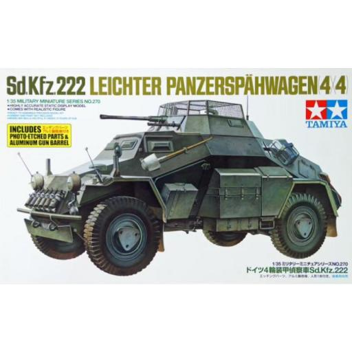 1/35 Sd.Kfz. 222 Leichter Panzerspahwagen 4x4