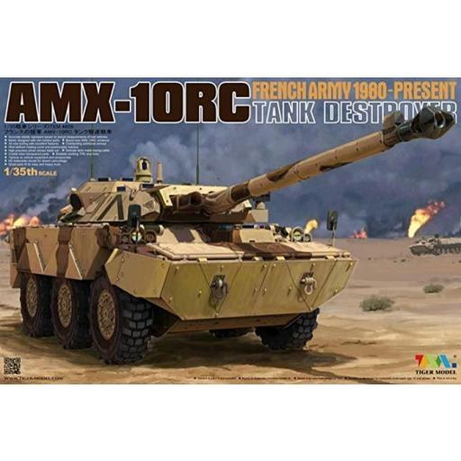 1/35 French Army AMX 10RC Tamk Destroyer
