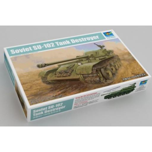 1/35 Soviet SU-102 Tank Destroyer