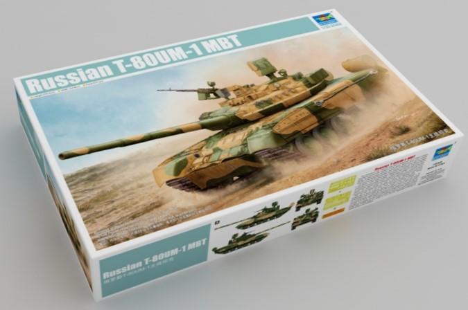 1/35 Russian T-80 UM-1 MBT
