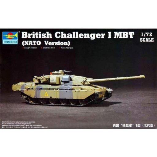 1/72 British Challenger I MBT (OTAN)